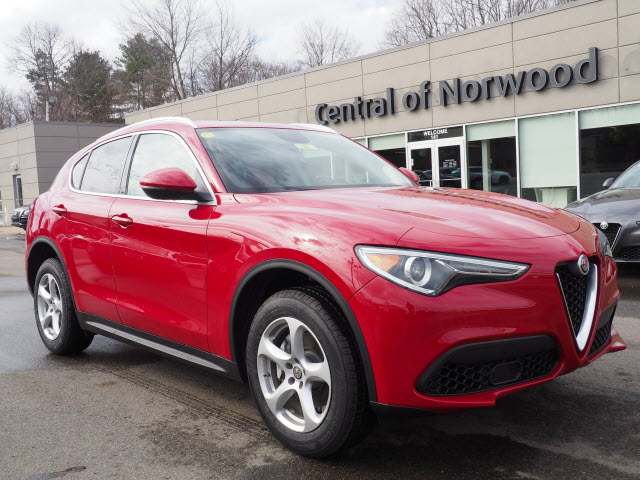 New 2018 Alfa Romeo Stelvio Base Sport Utility In Norwood F180091